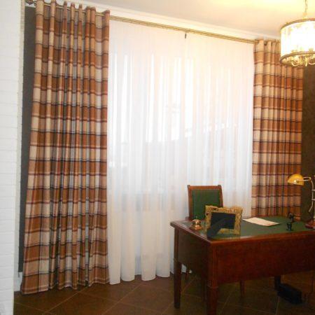 купить тюль шторы для кабинета