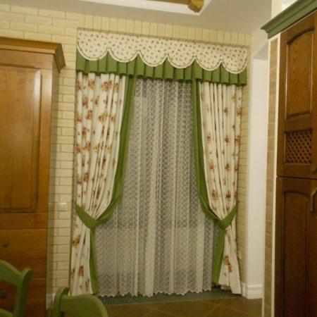 готовые шторы для кухни купить недорого
