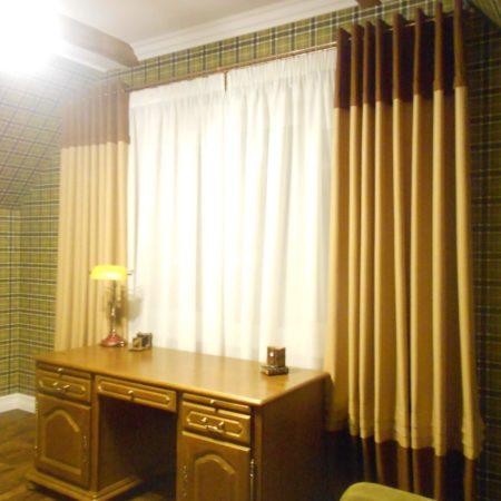 для кабинета купить тюль шторы