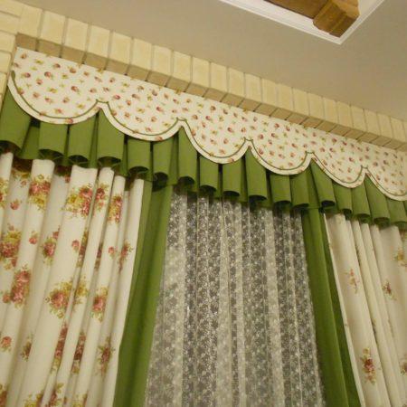 прованс готовые шторы для кухни недорого