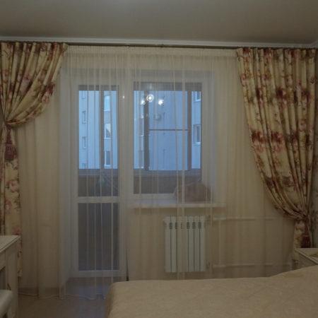 готовые шторы для спальни прованс