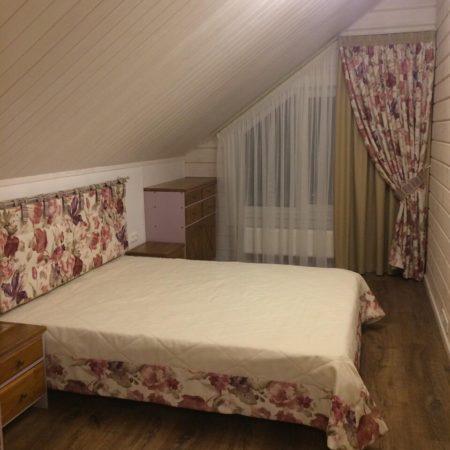 готовые шторы для спальни на косую