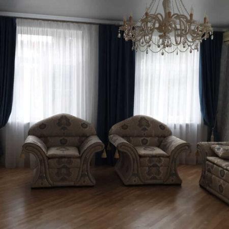готовые шторы для гостиной комплект
