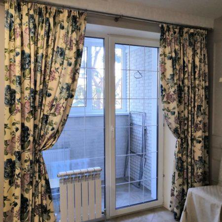 портьеры готовые шторы для кухни