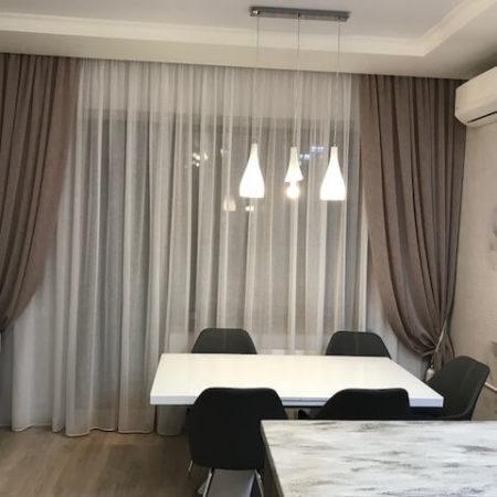 готовые шторы для кухни столовой