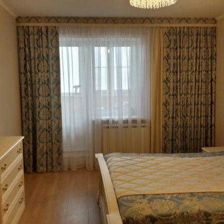 готовые классические шторы для спальни
