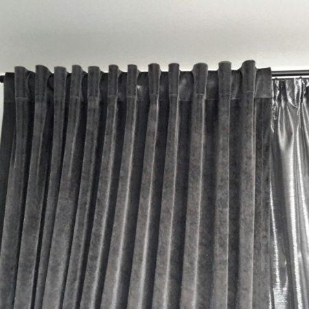 готовые шторы для спальни бархат