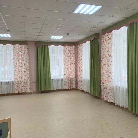 готовые шторы для гостиной детсада