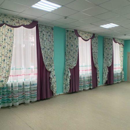 готовые шторы для гостиной детсада ламбрекены