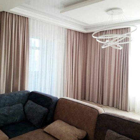 готовые шторы для современной гостиной