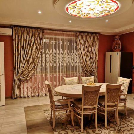 готовые шторы для кухни столовой купить