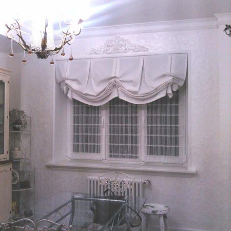 готовые шторы кантри для кухни купить