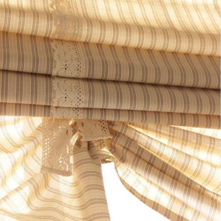 готовые шторы для кухни римские беж
