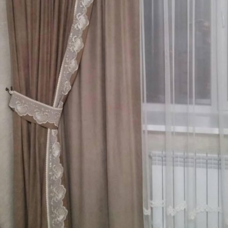 с вышивкой готовые шторы в спальню