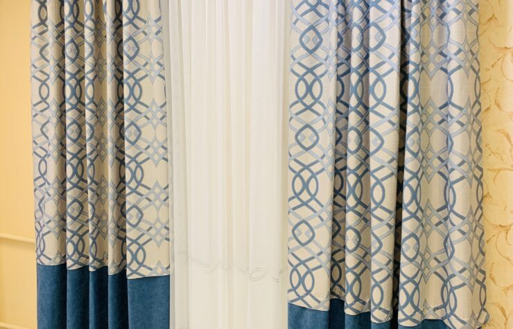 готовые шторы магазин комплект портьер