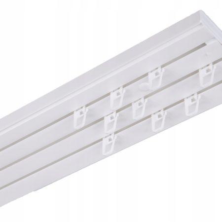 потолочный пластиковый карниз для штор купить