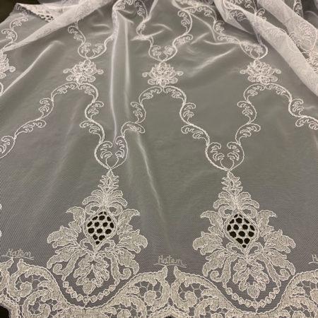 тюль вышивка 1840