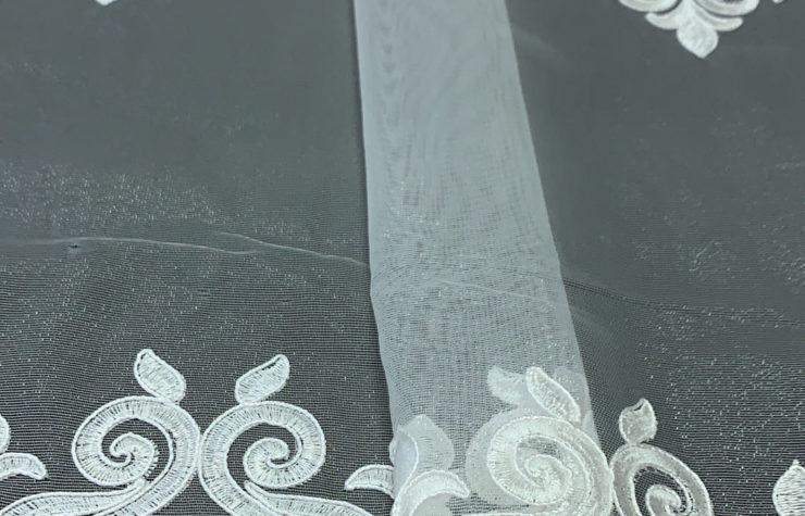 тюль вышивка дамаск 1890